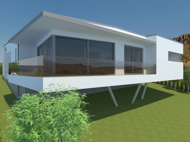 Ansprechende Architektur und traditionelles Material