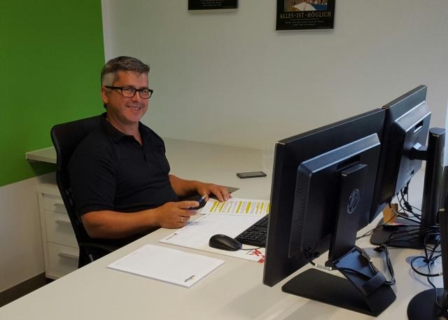 Unser neuer Mitarbeiter Franz Loidl